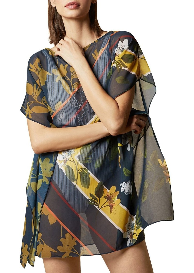 Ted Baker Oraciee Savanna Square Swim Cover-Up