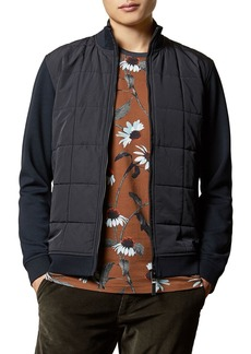 Ted Baker Pasport Quilted-Front Jacket