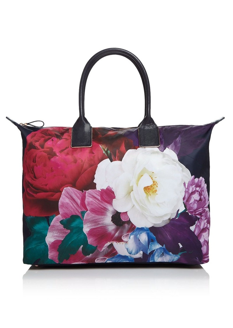 0709fb988 Ted Baker Ted Baker Paulina Blushing Bouquet Large Nylon Tote