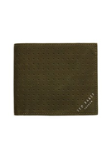 Ted Baker Perforated Leather Wallet
