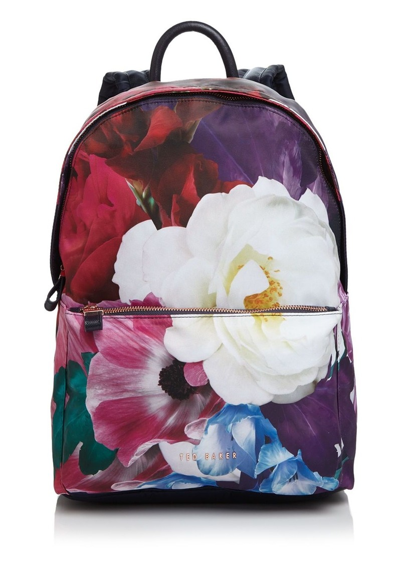 87a9c2aa7 Ted Baker Ted Baker Phebee Blushing Bouquet Nylon Backpack