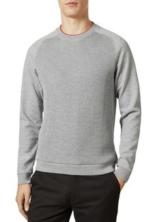 Ted Baker Pied Ribbed Front Sweatshirt