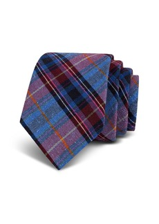 Ted Baker Plaid Bourette Silk Classic Tie