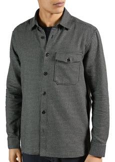 Ted Baker Puppytooth Regular Fit Button Down Shirt