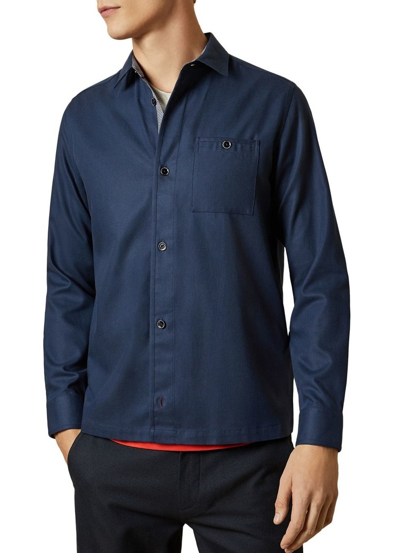 Ted Baker Regle Button-Front Over Shirt