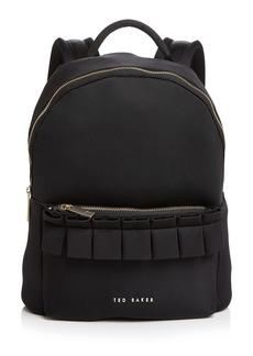 Ted Baker Ruffled Backpack