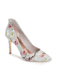 Ted Baker 'Savei' Citrus Bloom Pointy Toe Pump (Women)