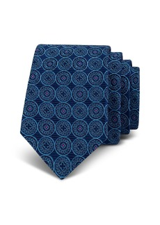 Ted Baker Shadow Circle Silk Skinny Tie