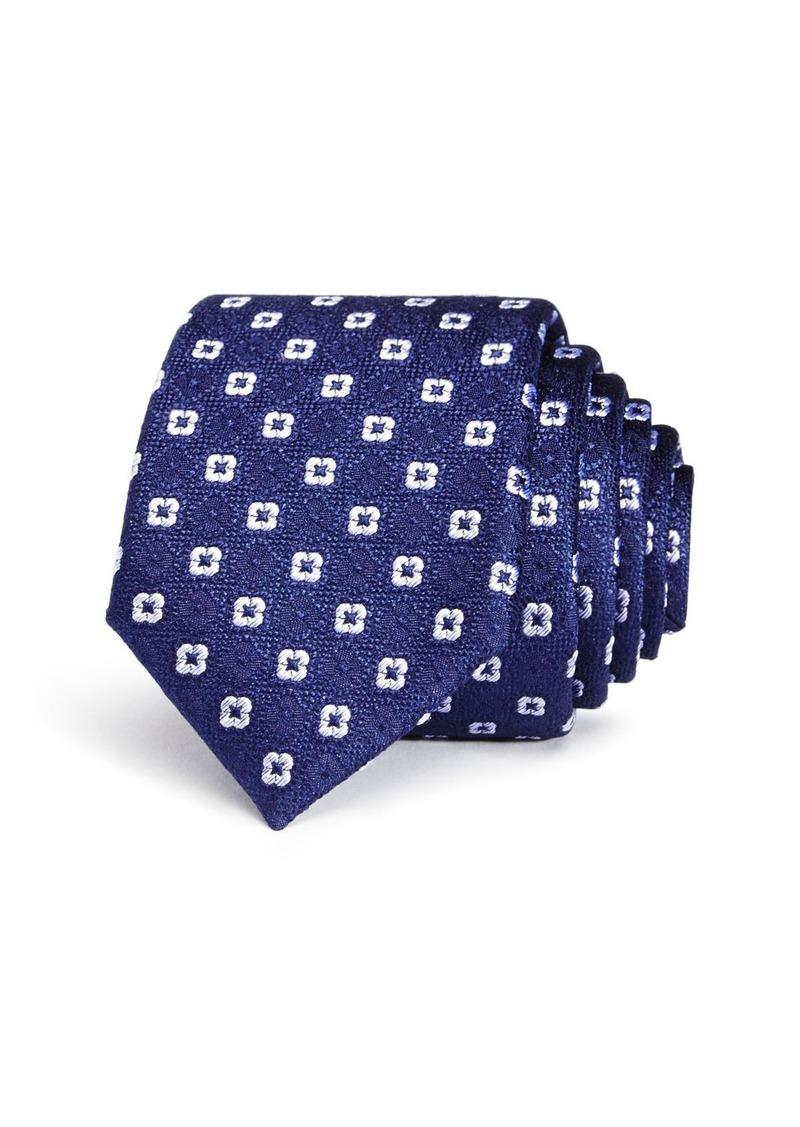 Ted Baker Shadow Flower Skinny Tie