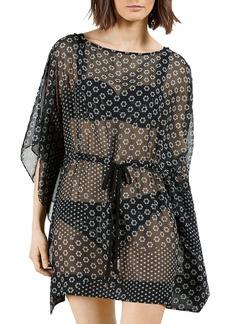 Ted Baker Sheer Swim Cover-Up Dress