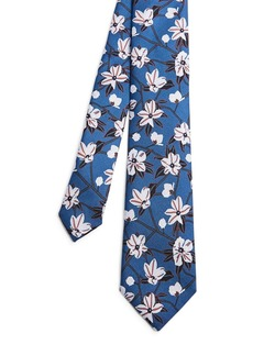 Ted Baker Silk Illustrated Floral Tie