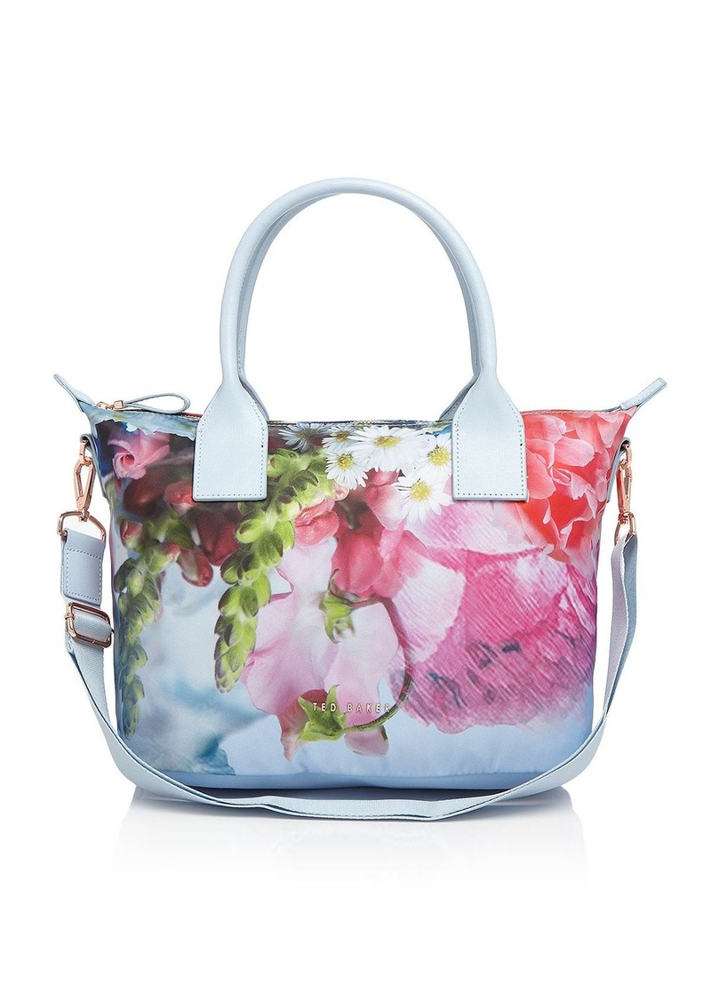d158db455f4028 On Sale today! Ted Baker Ted Baker Small Focus Bouquet Nylon Tote