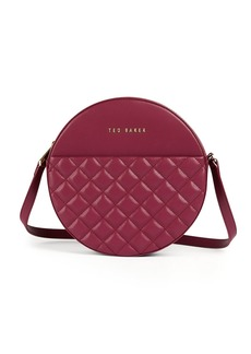 Ted Baker Small Quilted Circle Crossbody