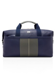 Ted Baker Sodda Striped Leather Holdall