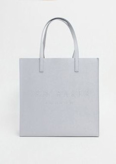 Ted Baker soocon crosshatch large icon bag in gray