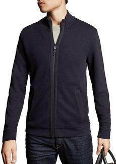 Ted Baker Spied Zip-Front Sweater