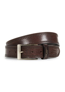 Ted Baker Stitched Leather Belt