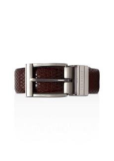 Ted Baker Tatti Textured & Reversible Leather Belt