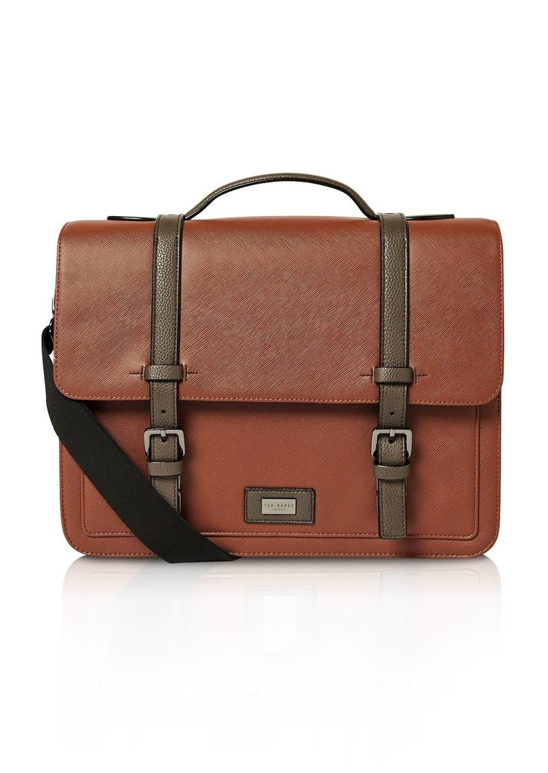 Ted Baker Textured Faux Leather Satchel