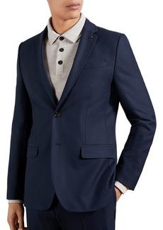 Ted Baker Textured Regular Fit Blazer