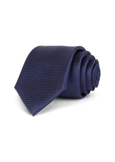 Ted Baker Textured Solid Basic Silk Classic Tie