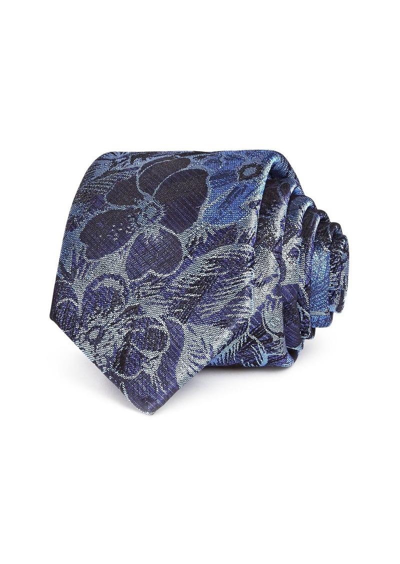 Ted Baker Tonal Flower Silk Skinny Tie