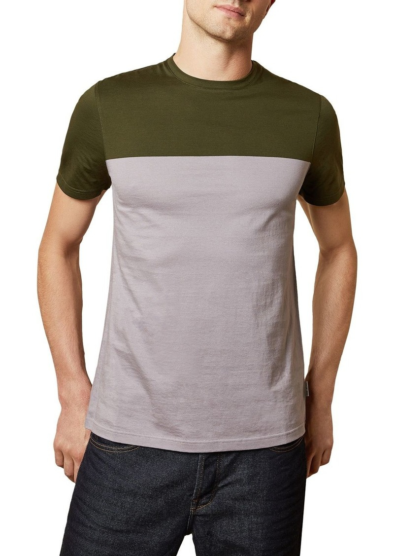 Ted Baker Tospice Colorblocked Slim Fit Short-Sleeve Tee - 100% Exclusive