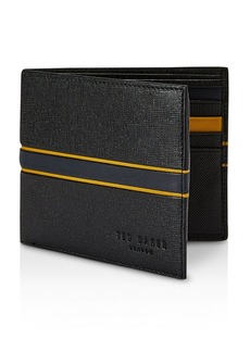 Ted Baker Trave RFID Block Striped Bifold Wallet