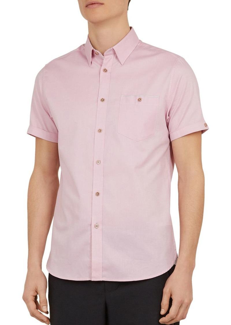Ted Baker Wallabi Slim Fit Oxford Shirt