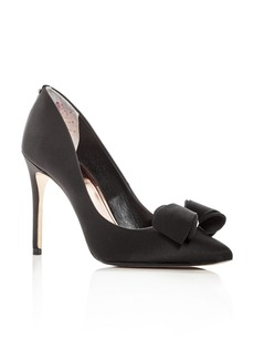 Ted Baker Women's Azeline Satin Pointed Toe Pumps