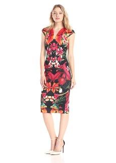 Ted Baker Women's Bismii Tropical Toucan Sheath Dress