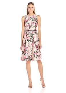 Ted Baker Women's Clarbel Blossom Jacquard V Back Dress