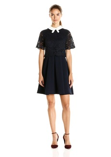 Ted Baker Women's Dixxy Lace Bodice Double Layer Dress