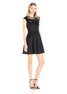 Ted Baker Women's Dollii Embroidered Cut Out Dress