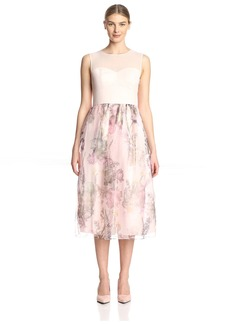 Ted Baker Women's Faunia Dress with Printed Skirt  3 ( US)