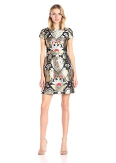 Ted Baker Women's Imoen Opulent Orient Jacquard Dress