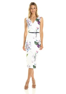Ted Baker Women's Kalab Tropical Oasis Dress with Bows
