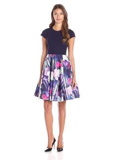 Ted Baker Women's Keriee Hydrangea Haze Full Skirt Dress