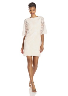 Ted Baker Women's Laavia Lace 3/4 Sleeve Shift Dress  3