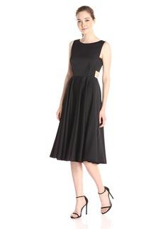 Ted Baker Women's Lyxa Cut Out Full Skirt Midi Dress
