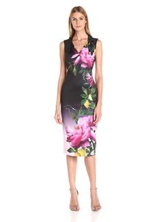 Ted Baker Women's Oldiva Citrus Bloom Pleat Midi Dress