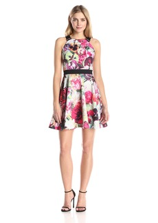 Ted Baker Women's Samra Floral Swirl Skater Dress