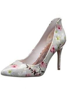 Ted Baker Women's Savei Dress Pump white floral M US