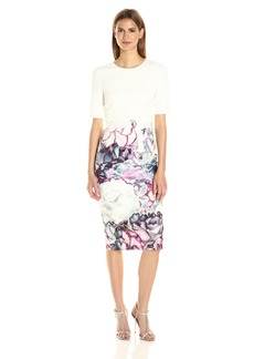 Ted Baker Women's Stephie Illuminated Bloom Contrast Dress