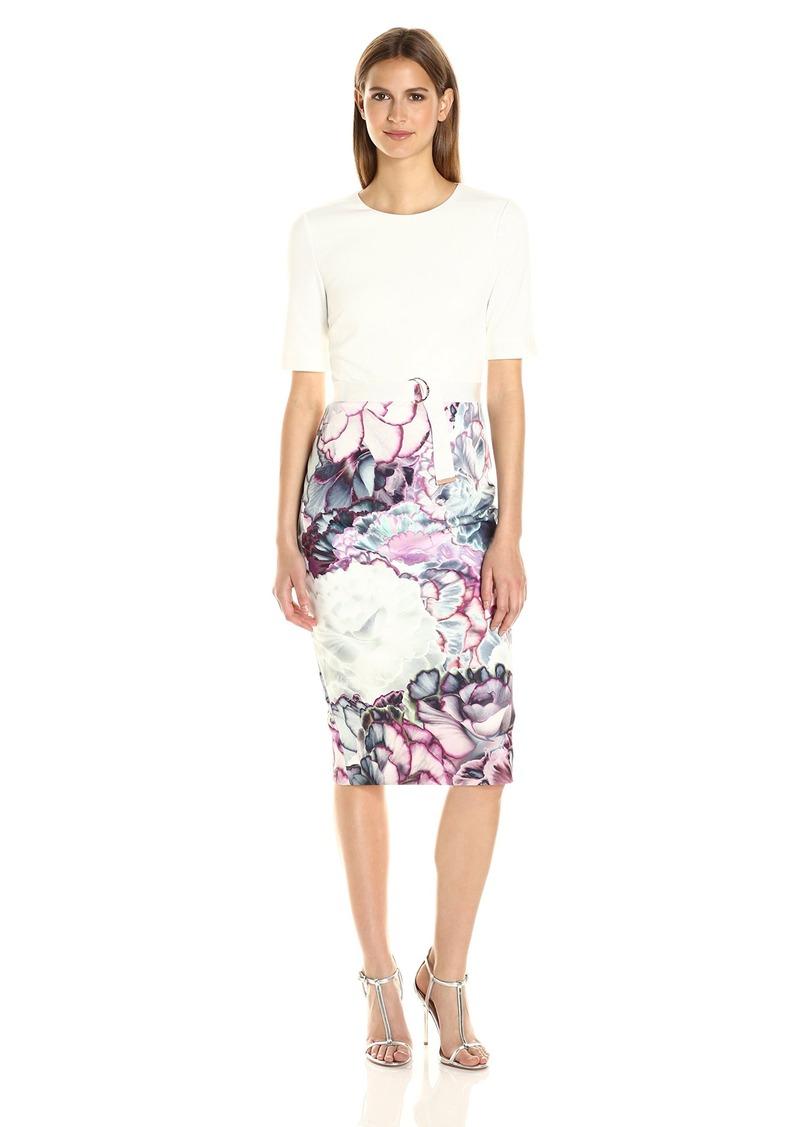 781bd266 Ted Baker Ted Baker Women's Stephie Illuminated Bloom Contrast Dress ...