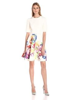 Ted Baker Women's Tutsi Tapestry Floral Full Skirt Dress