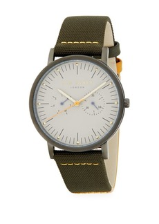 Ted Baker Textured Leather Watch