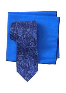 Ted Baker Textured Paisley Tie & Pocket Square Set