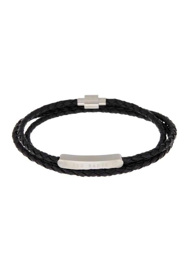 Ted Baker Tripe Wrap Braided Bracelet