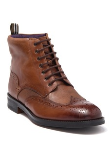 Ted Baker Twrens Wingtip Leather Boot